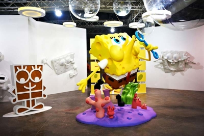 SpongeBob International Traveling Exhibit for Nickelodeon