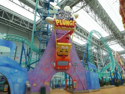 40ft SpongeBob Ride Entrance for Mall of America – Nickelodeon Universe
