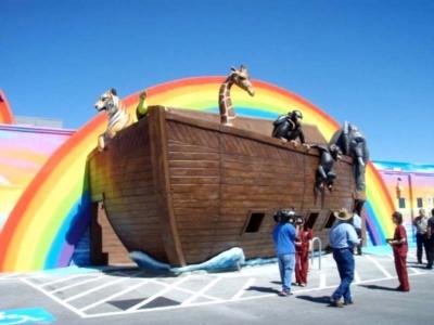 48ft Noah's Ark Entrance for The Dental Ark