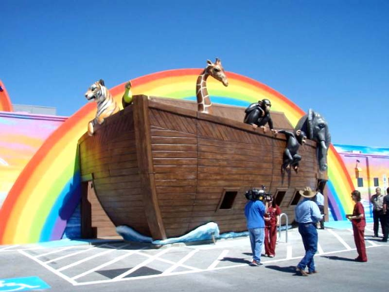 48ft Noah's Ark Entrance for The Dental Ark