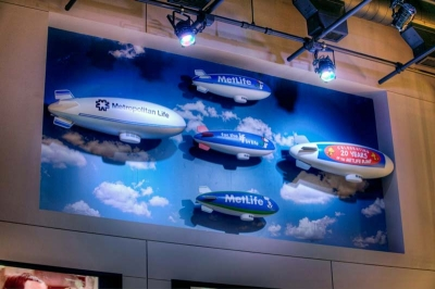 3-4ft MetLife Blimps for MetLife