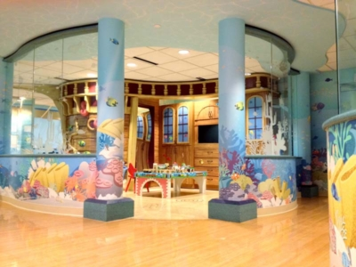 Ship Play Area for Cardinal Glennon Children's Medical Center