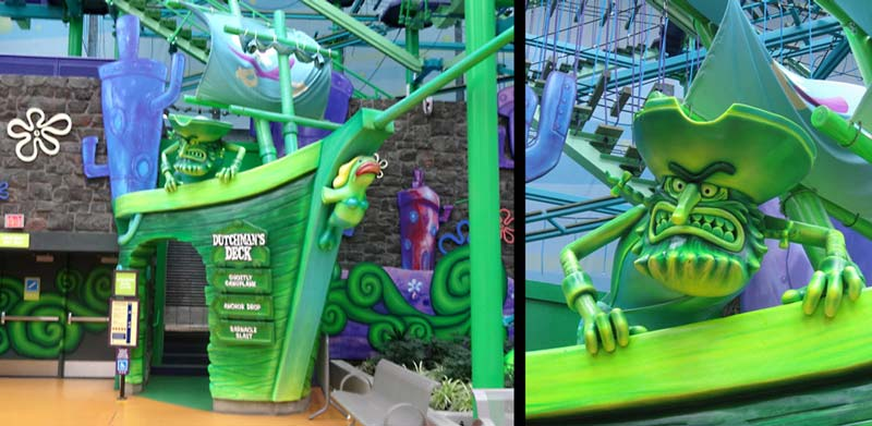 Dutchman's Deck Entrance for Mall of America – Nickelodeon Universe