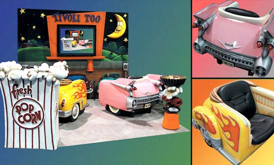 Drive-In Movie Trade Show Booth for TivoliToo