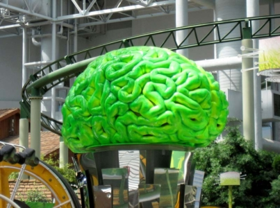 15ft Brain Ride Topper for Mall of America – Nickelodeon Universe