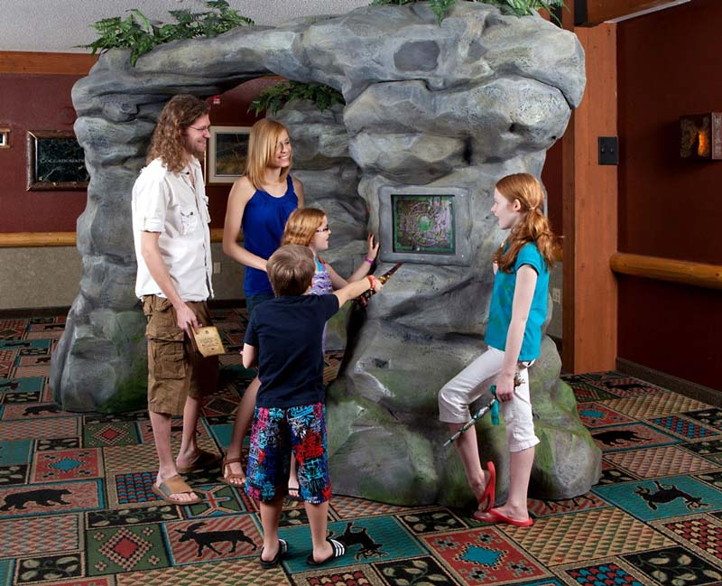 Quest Stone Entry for Great Wolf Resort / Creative Kingdoms