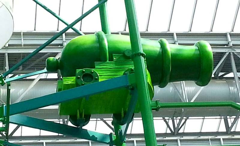 15ft Cannon for Mall of America – Nickelodeon Universe