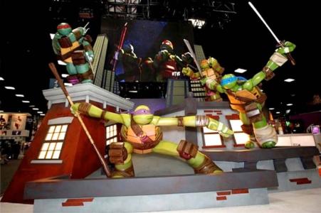 6ft Teenage Mutant Ninja Turtles for Nickelodeon