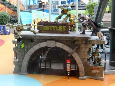 Shell Shock TMNT Ride Entrance for Mall of America – Nickelodeon Universe