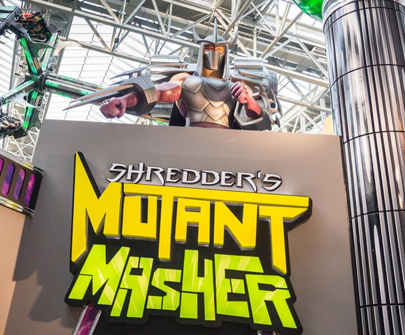 Shredder Sculpture
