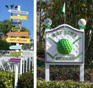 Vacation Resort Signage - Marriott's Harbour Lake - Orlando, FL