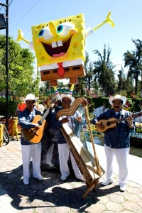 Custom 10ft SpongeBob Character for Nickelodeon
