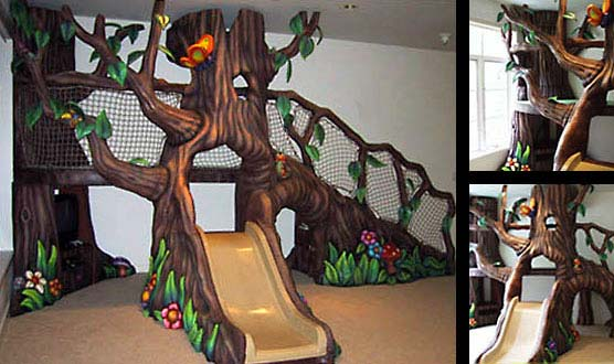 Treehouse Play Feature for a Private Residence