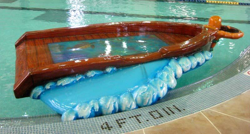 Glass Bottom Boat Floatable for Shoreview Community Center