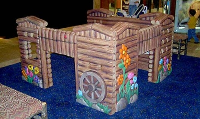 Fort Play Feature for Park Meadows Mall