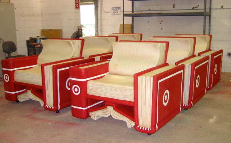 5ft Reading Chairs for Target