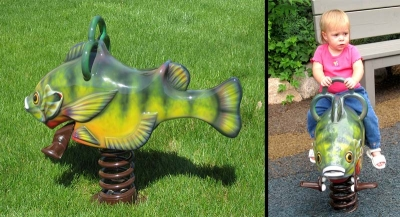 Fish Spring Riders for Minnesota Zoo
