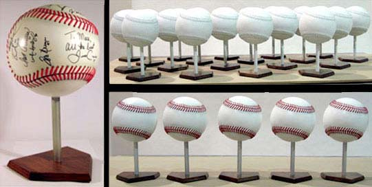 10in diameter Baseball Centerpieces for San Francisco Giants Community