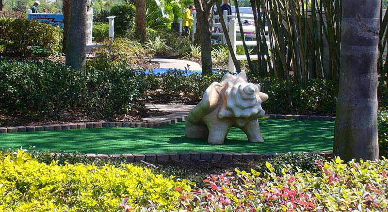 Ocean Mini Golf Elements for Marriott Vacation Resorts