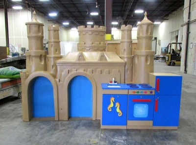 Sandcastle and Kitchenette for Carnival Cruise Lines