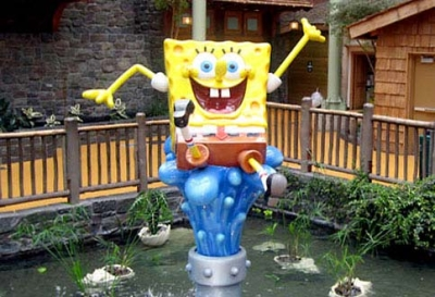 6ft SpongeBob in the Water for Nickelodeon