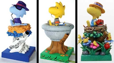 5.5ft Woodstock on Nest Statues for City of Santa Rosa