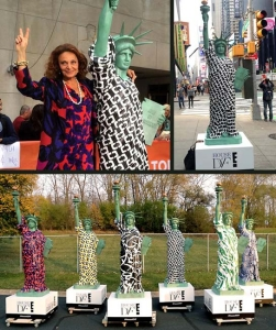 Custom 8ft Statue of Liberty for Civic Entertainment Group / E! Network