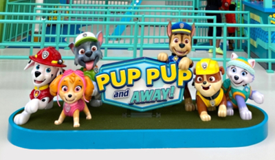 """Pup Pup & Away"" Paw Patrol Characters Photo Opp"