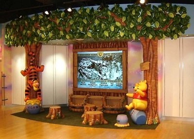 Hundred Acre Woods Video Area for Disney