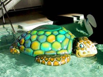 Sea Turtle Floatable for Shoreview Community Center