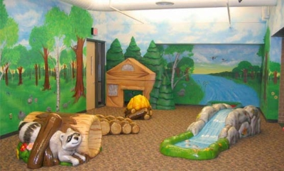 Nature Play Area for Andover YMCA