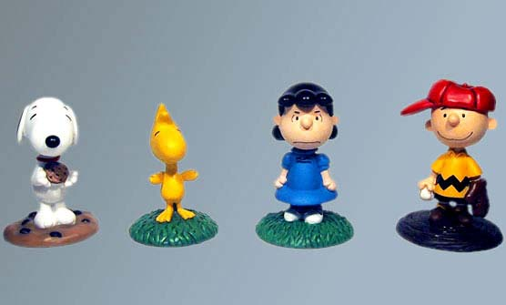 Peanuts Bobbleheads for United Media