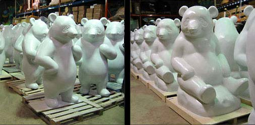 6ft Panda Statues for D.C. Commission on the Arts and Humanities