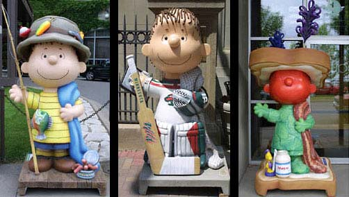 6ft Linus Statues for St. Paul