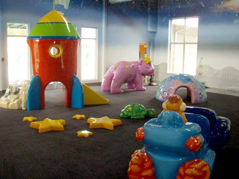 Space Play Area for Bright Star Academy