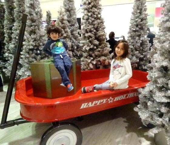 10ft long Red Wagon for Mall of America