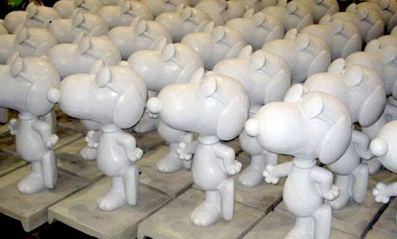 5.5ft Joe Cool Snoopy Statues for City of Santa Rosa