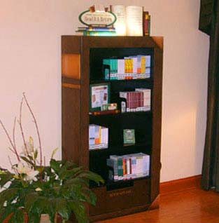 Big Book Bookshelves and Signage for Carlson Hotels Worldwide