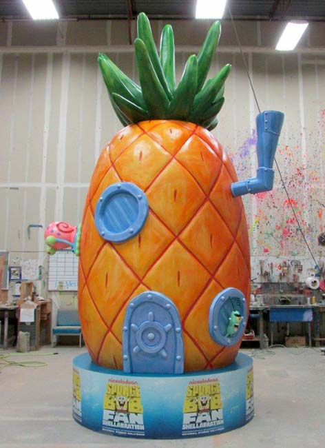 15ft Spongebob Pineapple for Nickelodeon