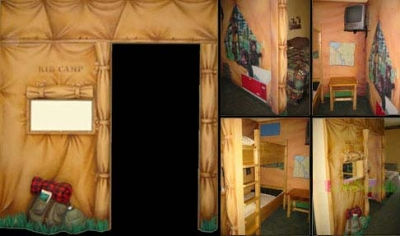 Kid Camp Kids Hotel Rooms for Great Wolf Resort