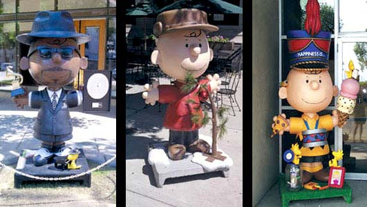 6ft Charlie Brown Statues for St. Paul