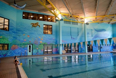 Under the Sea Mural for Maplewood Community Center