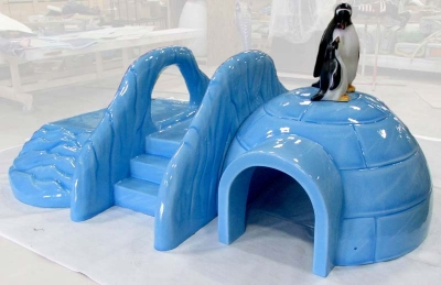 Igloo Play Structure and Penguins for Carnival Cruise Lines