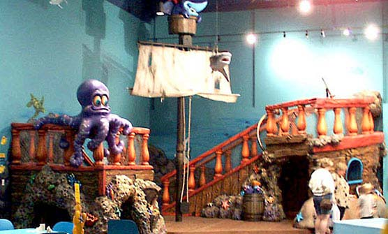 Pirate Ship for Mall of America – Underwater Adventures Aquarium