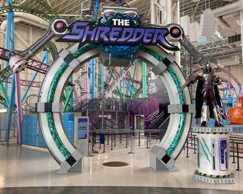 The Shredder Entry Portal Photo Opp