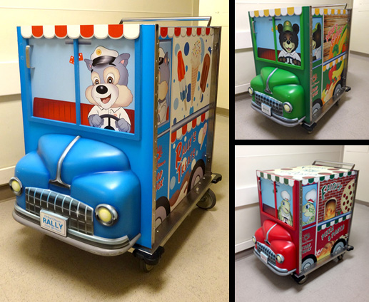 Food Truck Themed Cart for Cardinal Glennon