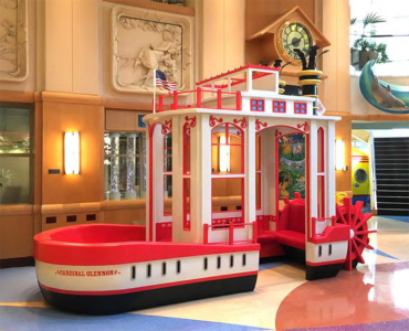 16 ft Steamboat Interactive Play Feature for Cardinal Glennon