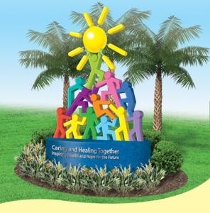 15' Front Entrance Sculpture for Golisano Children's Hospital