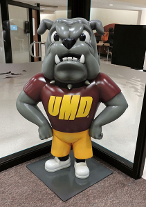 Custom University of MN Duluth Champ Bulldog