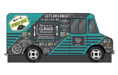 "Themed ""Food Truck"" for Verizon Corporate Headquarters"